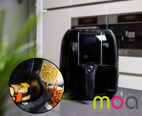 Groupdeal - Moa Airfryer Deluxe
