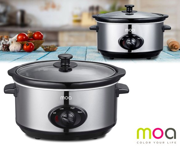 Groupdeal - MOA Design Slowcooker