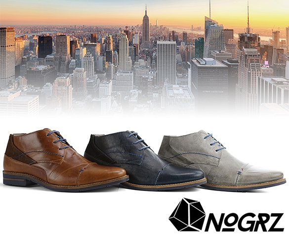 Groupdeal - NoGrz Wright Herenschoenen