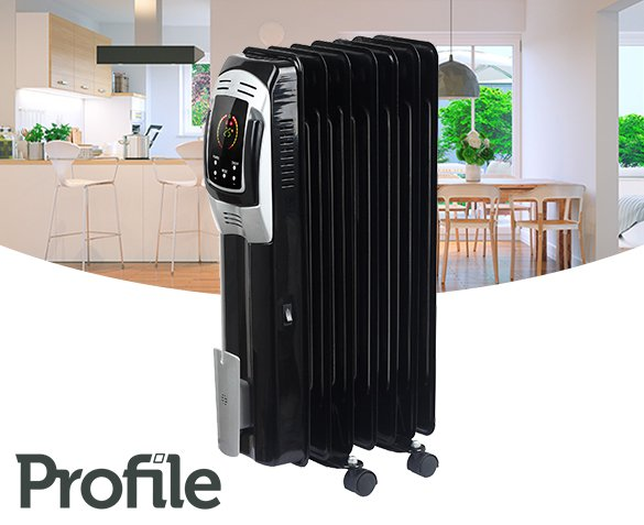 Groupdeal - Profile Radiator Fogo Black