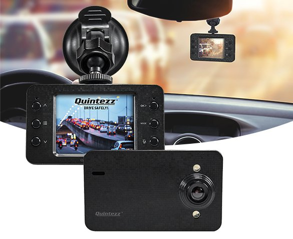 Groupdeal - Quintezz HD Dashcam
