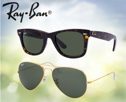 Ray Ban Wayfarer en Aviator Zonnebrillen | Dagelijkse