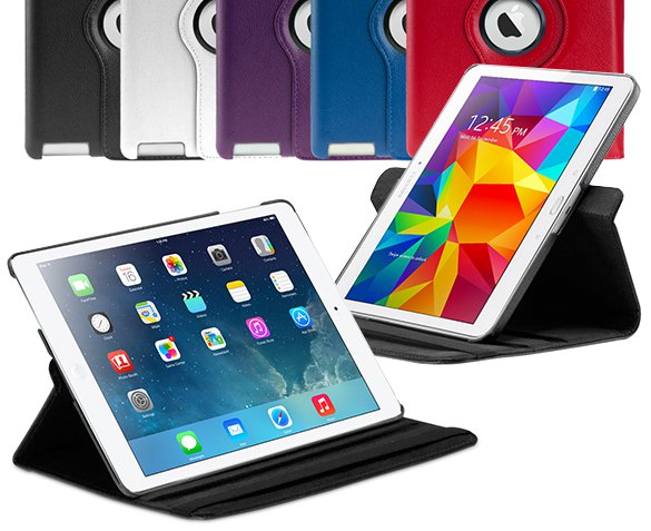 Groupdeal - Roterende iPad/Tablet Case