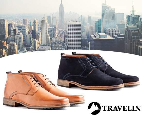 Groupdeal - Travelin' London Herenschoenen