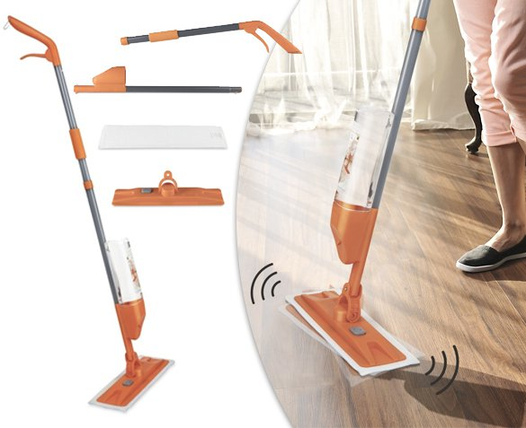 Groupdeal - Turbo Vibration Spray Mop