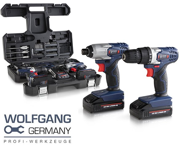Groupdeal - Wolfgang 72-delige Boormachineset