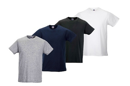 Groupon - 10-Pack Russel T-Shirts