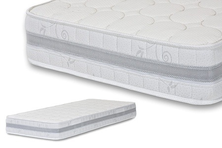 Groupon - Elite Pocket Visco Latex-matras in verschillende maten (gratis bezorgd)