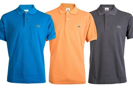 Groupon - Lacoste polo's in 6 kleuren