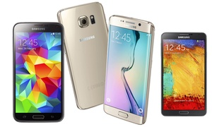 Groupon - Refurbished Samsung S3/ S4/ S5/S6, S6 Edge/ Note 4, Note 5