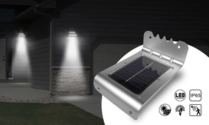 Groupon - Solar Muur Lamp Rvs