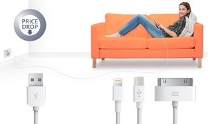 Groupon - Usb-Kabels Iphone Of Micro-Usb Vanaf € 0