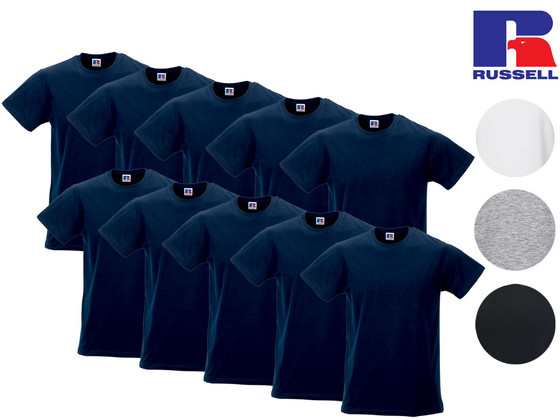 iBood - 10x Russell Basic T-Shirt