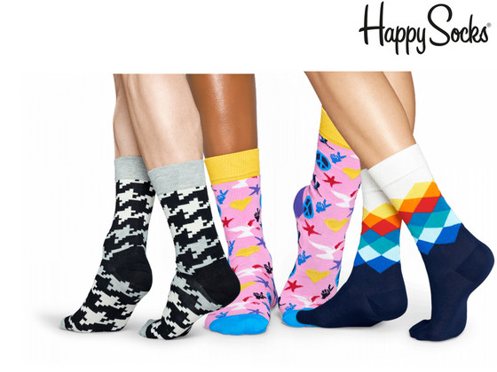 iBood - 6 Paar Happy Socks