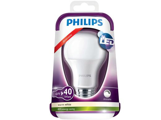 iBood - 8x Philips Dimbare LED Lampen 6W
