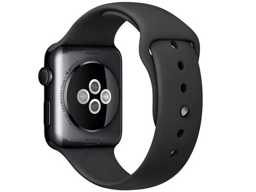 iBood - Apple Watch 42mm Black Stainless Steel – Refurb