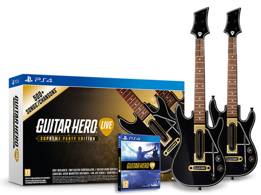 iBood - Guitar Hero Live SPE - GHTV content €20,-