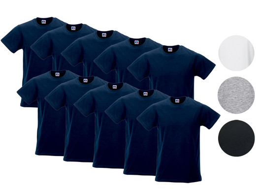 iBood Health & Beauty - 10x Russell Basic T-Shirt