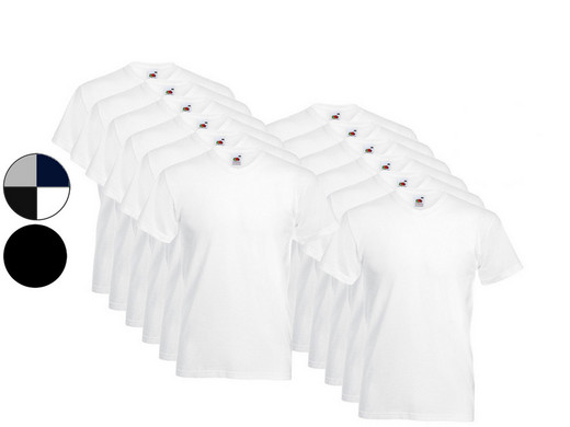 iBood Health & Beauty - 12x FOTL Basic Shirt (V of Rond)