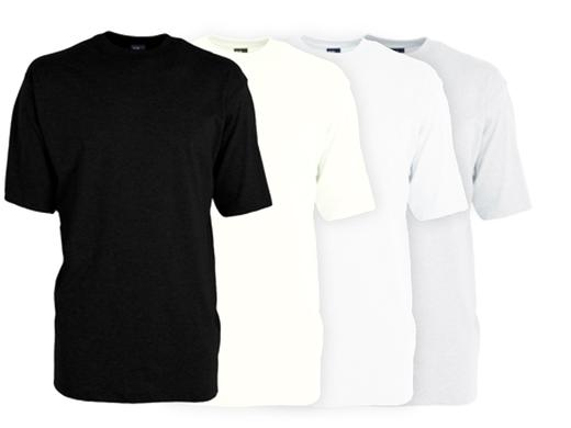 iBood Health & Beauty - Alan Red herenshirts Utah 4pack