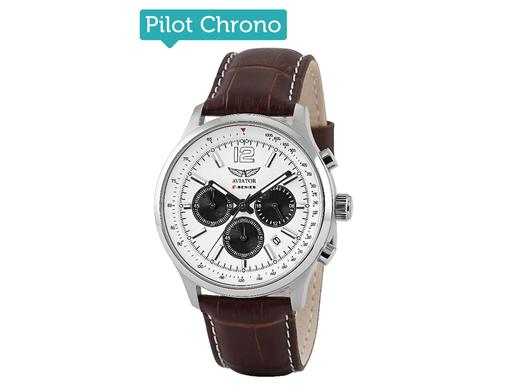 iBood Health & Beauty - Aviator F-Series Pilot Herenhorloge