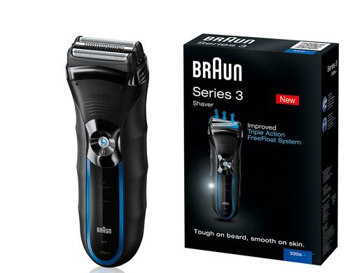 iBood Health & Beauty - Braun Series 3 330s-4 scheerapparaat