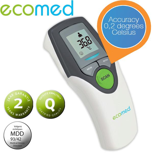 iBood Health & Beauty - Ecomed infrarood thermometer TM65