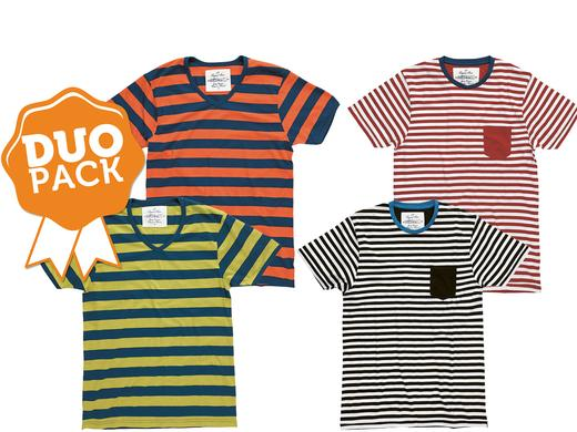 iBood Health & Beauty - JBS duopack Stripe T-shirts