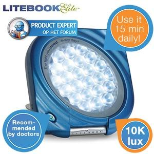 iBood Health & Beauty - Litebook Elite lichttherapie(energie)lamp