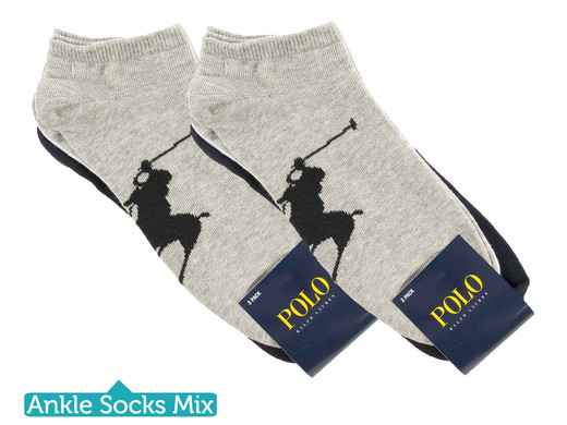 iBood Health & Beauty - Polo Ralph Lauren sokken (6-pack)