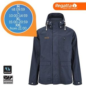 iBood Health & Beauty - Regatta Legacy winddichte allround jas - Navy - Maat XXL