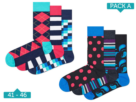 iBood Health & Beauty - Socks Mania by Happy Socks (6-pack)