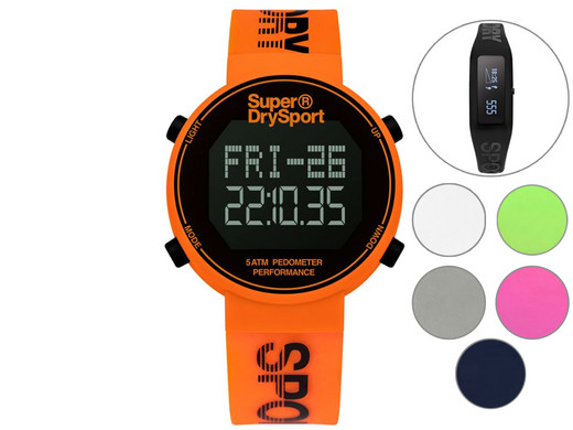 iBood Health & Beauty - Superdry Horloge of Activity Tracker