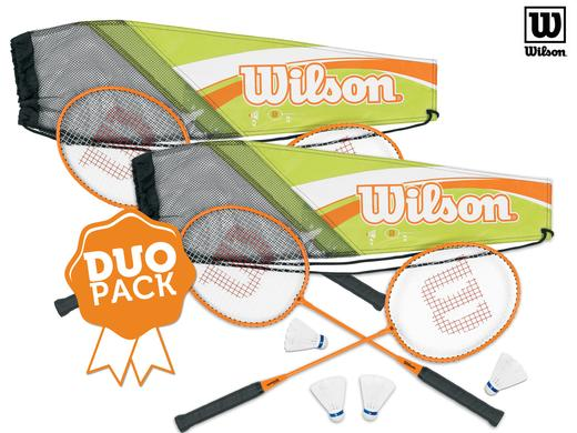iBood Health & Beauty - Wilson Badmintonset duopack