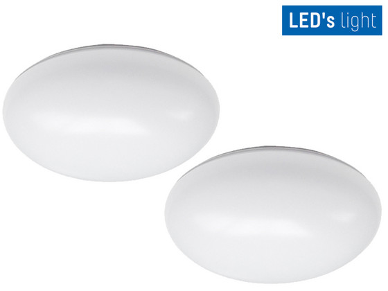 iBood Home & Living - 2x LED Plafonnière | 12 W