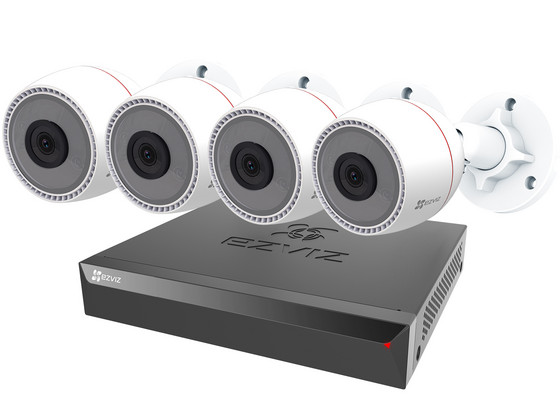iBood Home & Living - Ezviz C3T PoE Camera's + X5S PoE NVR