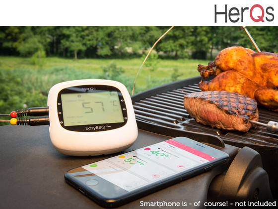 iBood Home & Living - Herqs Slimme BBQ-Thermometer