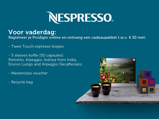 iBood Home & Living - Nespresso Magimix Prodigio Koffieapparaat