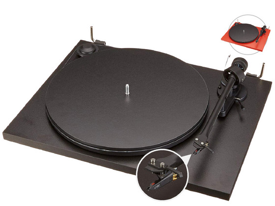 iBood Home & Living - Pro-Ject Platenspeler + Ortofon Element/Naald