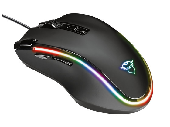 iBood Home & Living - Trust GXT 188 RGB Gaming Mouse