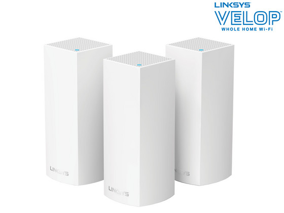 iBood - Linksys Velop Tri-band Mesh Systeem