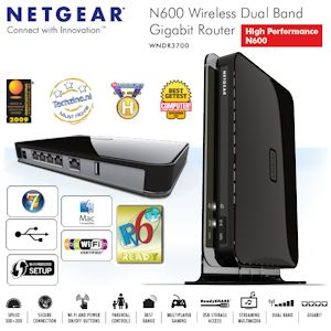 Home Gigabit Router on Wndr3700     High Performance Dual Band Wireless Gigabit Router