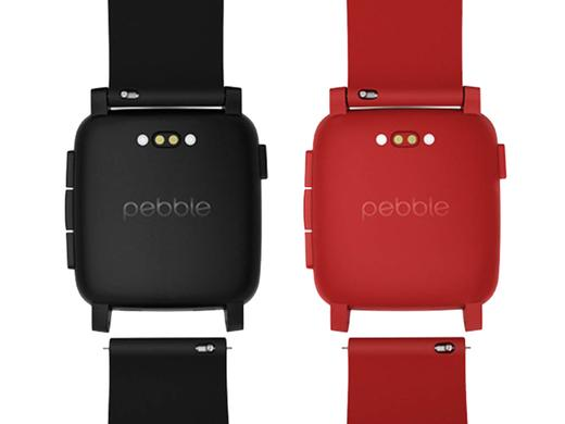 iBood - Pebble Time Smartwatch Zwart