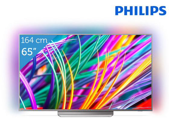 "iBood - Philips 65"" 4K Android TV"