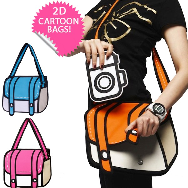iChica - 2D Cartoon Bags