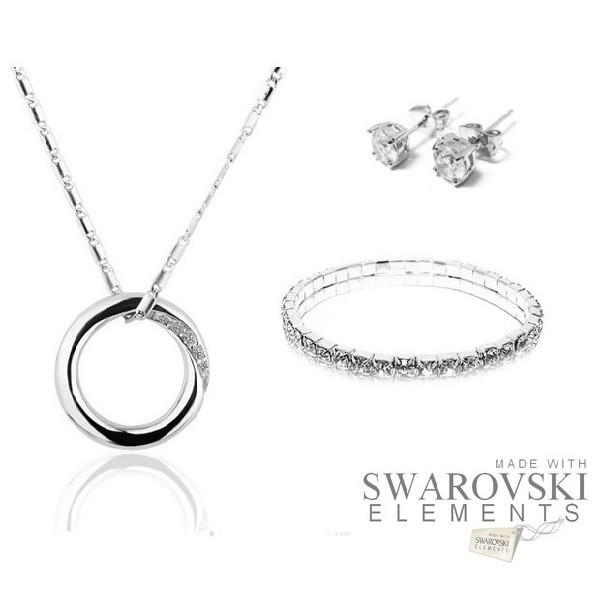 iChica - Fabulous Circle Sieradenset met Swarovski Elements