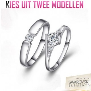 iChica - Swarovski Elements Kristal Ring