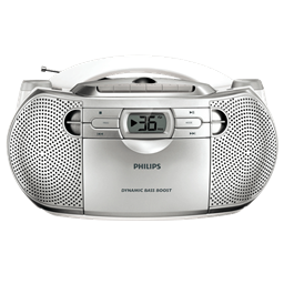 Kijkshop - Philips Radio/cd Az1027