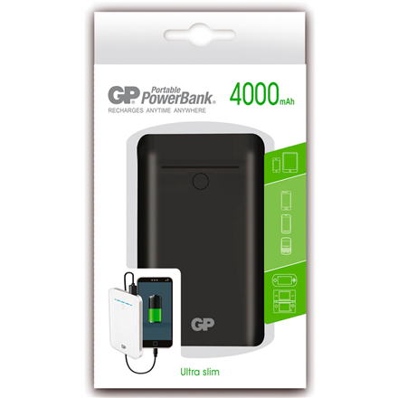 Kijkshop - Portable PowerBank zwart