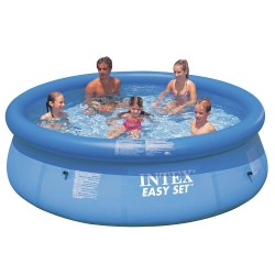Intex zwembad 366cm incl filterpomp en afdekzeil for Filterpomp zwembad